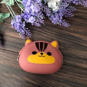 Handbags - New silicone kitty coin purse/ pouch
